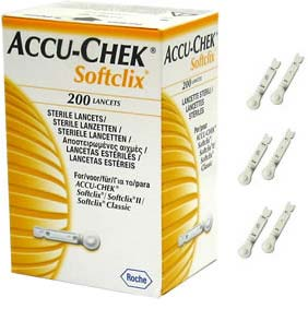 Ланцеты Accu-Chek Softclix №200 (Roshe Diagnostics)