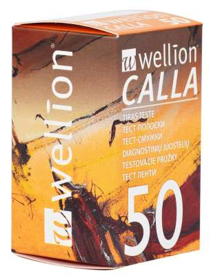 Тест-полоски Wellion CALLA №50 (Wellion)