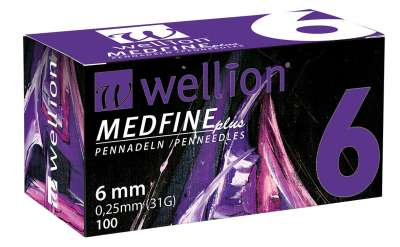 Иглы для шприц-ручки Wellion MEDFINE plus №100 (31G - 6 мм) (Wellion)